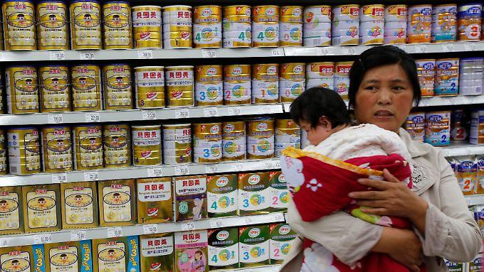 In China gab es in den vergangenen Jahren viele Skandale um verseuchte Babynahrung.