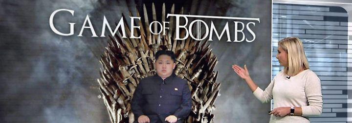 n-tv Netzreporterin: Kims Bomben provozieren Spott und Angst