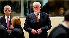 Gift im UN-Gerichtssaal?: Verurteilter General Praljak ist tot