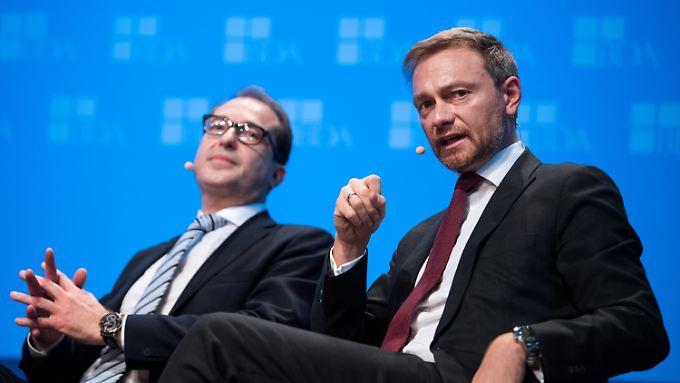 Christian Lindner hält der SPD vor, sich zu früh gegen eine Große Koalition entschieden zu haben.