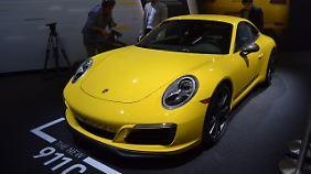 Die puristische Variante des Porsche 911 trägt nach der Zahl noch ein T.