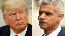 """Wut bei Londons Bürgermeister: """"Trump ist hier nicht mehr erwünscht"""""""