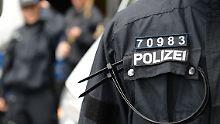 """Üble Zustände bei der Polizei: Eine """"mobile Dusche"""" für 25 Beamte"""