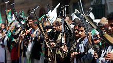 Rache für saudische Blockade: Huthi-Rebellen feuern auf Saudi-Arabien
