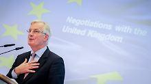 Scheitern die Brexit-Gespräche?: EU bereitet sich auf das Schlimmste vor