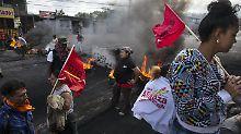 Wahlergebnis verzögert sich: Honduraner müssen zu Hause bleiben