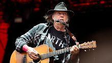 Beispielloses Musikarchiv: Neil Young stellt alle Alben gratis ins Netz