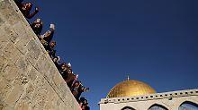 Kurz vor Jerusalem-Entscheidung: Arabische Liga warnt Trump
