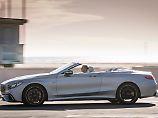 Böllernder V8, offenes Verdeck - mit dem Mercedes-AMG S63 ist man auch in Malibu richtig angezogen.