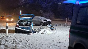 Viele Unfälle und ein Naturphänomen: Winter macht sich in Deutschland breit