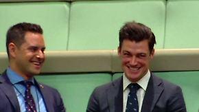 Während Debatte zur Homo-Ehe: Abgeordneter macht Heiratsantrag im australischen Parlament