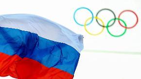 Sperre bei Olympischen Winterspielen?: IOC berät über Strafe im russischen Dopingskandal