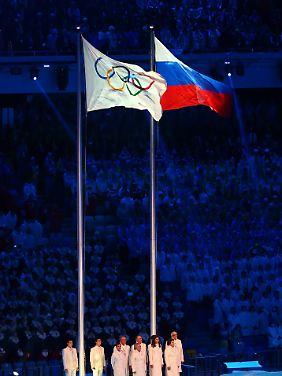 Die russische Flagge wird in Pyeongchang nicht wehen.