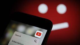 Mobilgeräte sind von der YouTube-Sperre nicht betroffen.