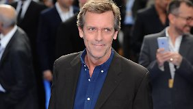 "Aktuell ist Hugh Laurie in der Serie ""The Night Manager"" zu sehen."