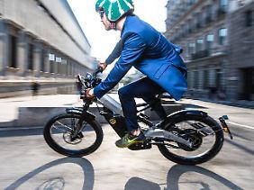 Das Bultaco Albero wird bis zu 45 km/h schnell.