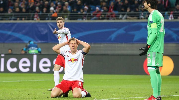 Für Leipzigs erste Champions-League-Saison der Vereinsgeschichte gilt: Raus, aber nicht ohne Applaus.