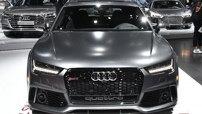 Stark in China und in den USA: Ein Audi quattro auf der Auto Show in Los Angeles.