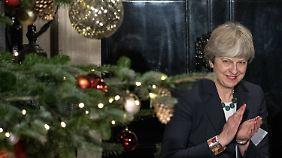 Für Theresa May könnten es stürmische Weihnachten werden, sollte es nicht zu einer Einigung in den Austrittsverhandlungen kommen.