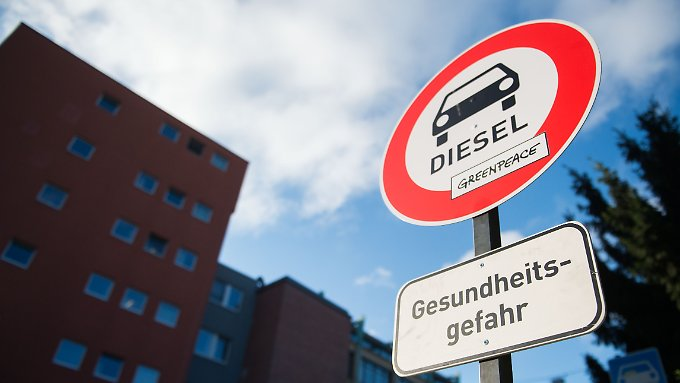 Umweltverbände fordern schon länger Fahrverbote für Dieselfahrzeuge.