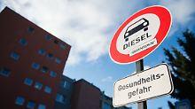 Auch ohne Fahrverbote: Studie sieht keine Zukunft für Diesel
