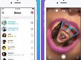 "Neue Messenger-App im Test: Instagram greift Snapchat ""Direct"" an"