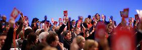 """""""Ohne jeden Automatismus"""": SPD-Parteitag billigt Gespräche mit Union"""