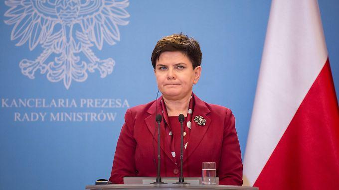 Das war's für Beata Szydlo. Künftig soll der aktuelle Wirtschafts- und Finanzminister Polens, Mateusz Morawiecki, das Land führen.