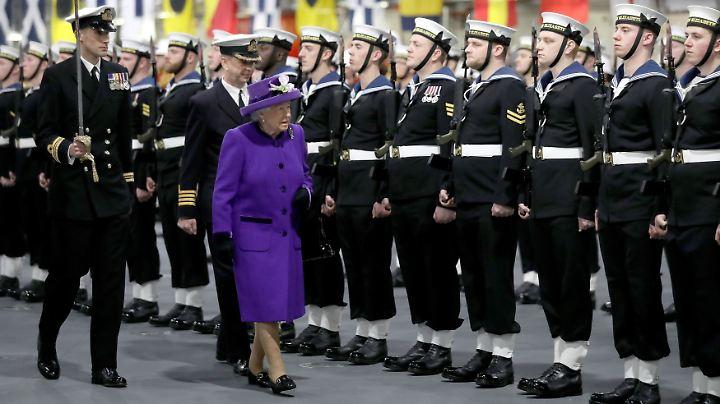 Die Queen sieht immer gut aus.
