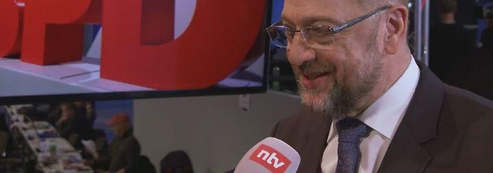 """Schulz über Verhandlungen mit der Union: """"Neue Große Koalition ist nicht in Stein gemeißelt"""""""