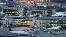 Reges Treiben auf Deutschlands größtem Flughafen.