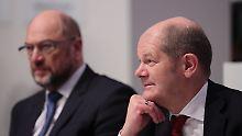 Ende eines Machtkampfs?: Der SPD-Frust trifft Scholz, nicht Schulz
