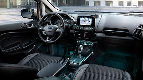 So ausgestattet kostet auch der Ford Ecosport über 20.000 Euro.