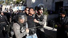 Widerstand in Jerusalem: Der Zorn vom Damaskustor