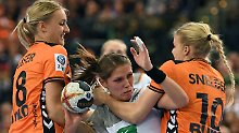 WM-Pleite gegen Niederlande: Handballerinnen verpassen Gruppensieg
