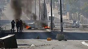 Israelischer Raketenangriff in Gaza: Gewaltsame Unruhen im Nahen Osten nach Trump-Entscheidung