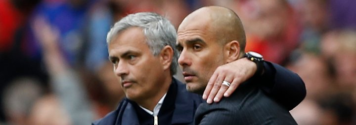 Manchester-Derby: Dauerfehde Guardiola vs. Mourinho geht in die nächste Runde