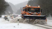 Die Wetterwoche im Schnellcheck: Schneegestöber, Tauwetter und wieder Winter
