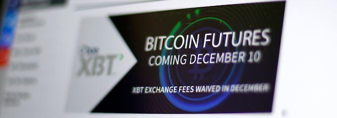 Extrem hohe Erwartungen - entsprechend hoch ist das Risiko: Das Thema Bitcoin zieht enorme Summen an.