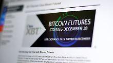 Der Börsen-Tag: Asien-Anleger schielen auf den Bitcoin