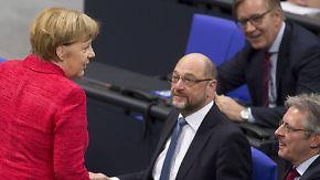 Neue Regierung erst Pfingsten?: Der Weg zu einer möglichen Großen Koalition ist lang
