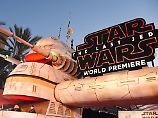 """Ins Kino du gehen musst: """"Star Wars: Die letzten Jedi"""" feiert pompöse Premiere"""