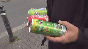 n-tv Ratgeber: Händler verkaufen unerlaubt Getränke ohne Pfand
