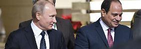 Vier Reaktoren in Dabaa: Russland baut erstes AKW in Ägypten