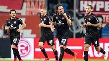 Kampf um den Bundesliga-Aufstieg: 1. FC Nürnberg überholt Fortuna Düsseldorf