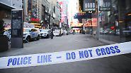 Versuchter Anschlag in New York: Amerikaner rätseln über Motive des Täters