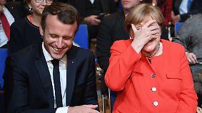 Merkel auf Tauchstation: Deutsche Querelen verspielen Führung in Europa
