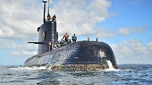 """Vermisstes U-Boot """"ARA San Juan"""": Suchtrupps überprüfen Objekt in der Tiefsee"""