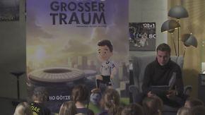 """""""Marios großer Traum"""": Götze stellt eigenes Kinderbuch vor"""