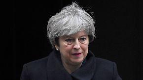 Veto-Recht beim Brexit: Tory-Rebellen wollen sich gegen May stellen